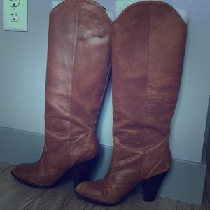 Knee-High Cow girl style boots